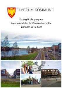Forsiden til planprogrammet